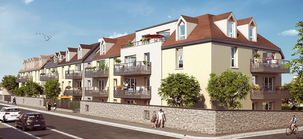 Appartement 2 pièces NEUF 42m2 Pontault Combault (77340)