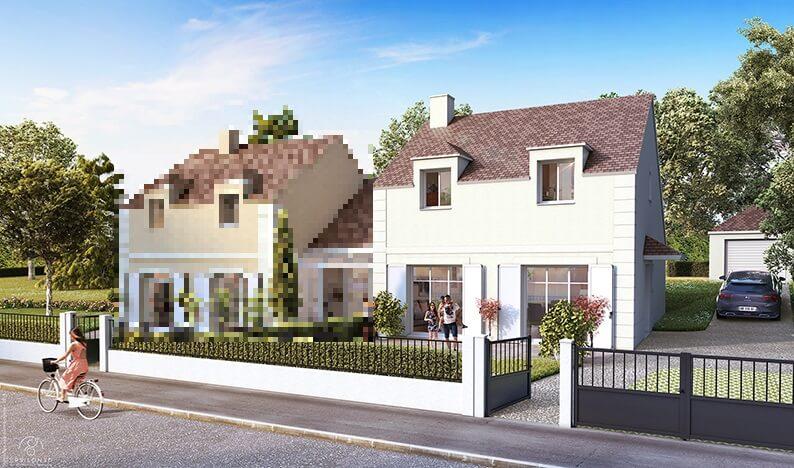 Maison neuve 6 pièces 109m2 à YERRES (91330)