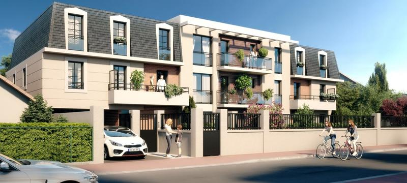Appartement 2 pièces 44,55m2 à LA QUEUE EN BRIE ( 94510)