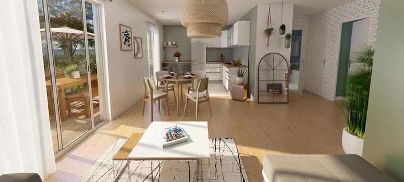 Appartement 2 pièces 48,63m2 à LA QUEUE EN BRIE (94510)